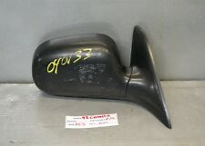 1993-1997 Toyota Corolla Right Pass OEM Manual Side View Mirror 21 8E3