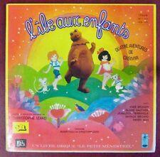 Ile aux Enfants 33 tours 25 cm Livre-Disque 4 aventures de Casimir