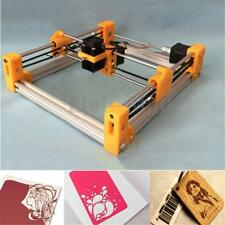 500MW Desktop Mini Laser Engraving Cutting Machine DIY Logo Printer Kit Orange