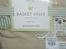 Pottery Barn Kids Dinosaur Easter Basket Liner Small ~ NEW NO MONO, SOLD OUT@PBK