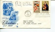Philip Anderson Nobel Prize Physics Signed Autograph FDC