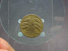 50 Rentenpfennig 1924 E   Kupfer/Aluminium  Weimarer Republik