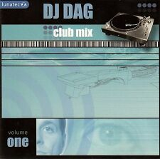 DJ DAG : CLUB MIX - VOLUME ONE / CD (LUNATEC LUNA010-2) - NEU