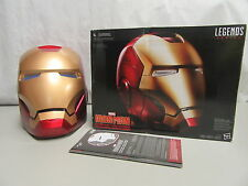 Marvel Iron Man Legends Series Electronic Helmet Cosplay Prop Replica - Hasbro
