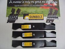 """3 USA XHT HD BLADES CUB CADET GT2554 SLT1554 GT1554 295 290 Z54 Z54L 54"""" CUT"""