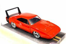 DODGE CHARGER DAYTONA 1969 ORANGE JADA 97682 1:24 DIECAST