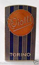 Viotti Carrozzeria Torino Original Metal Enamel Badge Emblem Emblema Excellent