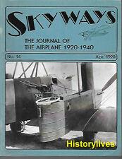 Skyways 14 Curtiss Condor Fokker Netherlands Pietenpol Yacky Transport Waco ATO
