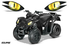 AMR Racing Arctic Cat Utility 250 2X4 ATV Headlight Decals Eye Sticker 06-09 ECY