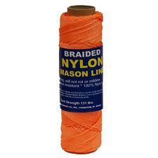 T.W. Evans Cordage Co. 12-522 - #1 Braided Ny Mason Line 1000' Orange NEW