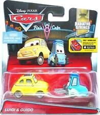 Disney Pixar Cars World Of Cars Luigi And Guido Radiator Springs Diecast Mattel