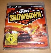 Playstation 3 PS3 Spiel - Dirt Showdown ( Deutsch Rennen Stunts ) - Neu OVP