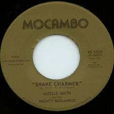 Gizelle Smith And Mighty Mocambos - Snake Charmer / Out Of Fashion 7""