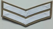 Royal Marine White/Stone Corporals Chevron