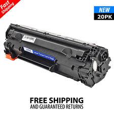 20PK CE285A 85A Black Toner Cartridge for HP LaserJet M1217nfw MFP P1102W