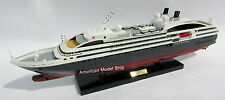 "L'AUSTRAL Cruise Ship Model 28"" - Handmade Wooden Ship Model NEW"