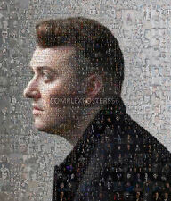 LARGE ORIGINAL MOSAIC PHOTO POSTER IN VARIOUS COLOURS OF SAM SMITH No 2