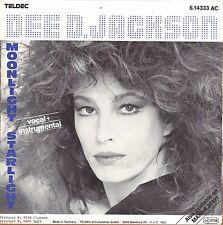 """7"""" Dee D. Jackson – Moonlight Starlight // Germany 1985"""