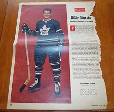 Billy Harris Perspectives magazine  February 6 1960 ( star weekly )