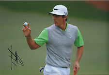 Thorbjorn OLESEN SIGNED Autograph 12x8 Photo AFTAL COA European Tour WINNER