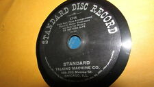 WALTER BIEDERMANN STANDARD DISC 78 RPM RECORD 746 ON THE HIGH ALPS