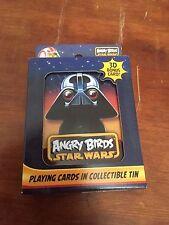Angry Birds Star Wars jugando a las cartas en Lata Coleccionable