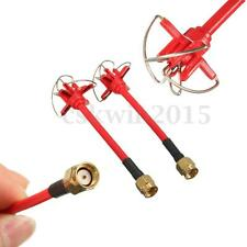 1 Pair 5.8Ghz Transmitter & Receiver 4 Leaf Antennas RP-SMA for Aomway TX/RX