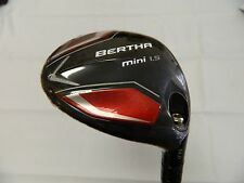 New Callaway Big Bertha Mini 1.5 14* Driver Stiff flex Kuro Kage 60 Graphite
