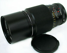 KONICA AR Mount BUSHNELL 200mm f:3.5 Big BRIGHT & FAST Telephoto Lens CLEAN