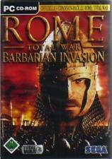 Rome Total War Addon Barbarian invasión usado muy buen estado