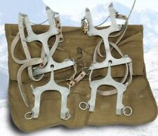 L@@K Military Army Surplus WW2 - 1950s Ice Crampons, ice fishing, snow, hiking
