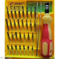 100% Original Jackly JK 6032 A 32 in 1 Tweezer & Screwdriver Set Repair Tool Kit