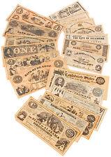 Replica Civil War Paper Currency