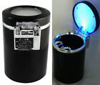 Car Auto Travel Led Lamp Cigarette Ashtray Ash Holder Cup for Smoking Gift AUFT