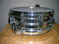 Vintage 1960's Rogers Dyna Sonic Custom Built 10 Lug Snare Drum COB shell