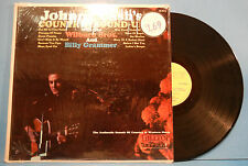 JOHNNY CASH'S COUNTRY ROUND-UP LP 1965 MONO ORIG SHRINK GREAT COND! VG+/VG+!!