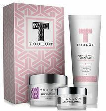 Toulon Anti Aging Skin Care Kit -Three Piece Set / Full Size Facial Products