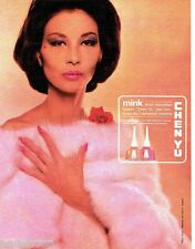 PUBLICITE ADVERTISING 116  1962  Chen Yu  vernis ongles Mink