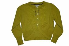 BNWT winter 2013 Eliane et Lena MONETTE green cardigan age 2