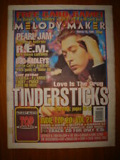 MELODY MAKER 1995 MAR 18 TINDERSTICKS REM OASIS SUEDE