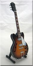 JOHN LENNON Casino Sunburst  Miniature Guitar  The Beatles