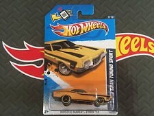 HOT WHEELS 72 FORD GRAN TORINO SPORT MUSCLE MANIA 12