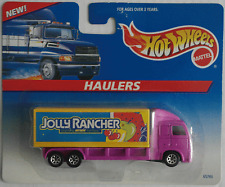 "HOT WHEELS HAULERS-CAMION/TRUCK Lillà/giallo ""Jolly Rancher"" Nuovo/Scatola Originale"