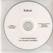 (AL480) Kakuzi, Sun Kissed Planet - DJ CD