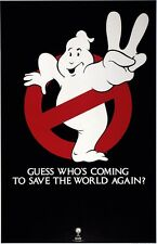 Ghostbusters movie poster print  : Bill Murray, Dan Aykroyd : 11 x 17 inches