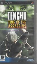 PSP PlayStation Portable **TENCHU TIME OF THE ASSASSINS** Usato Garantito Testat