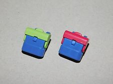PLAYMOBIL from PlaymorePlaymo lot of 2 school backpacks for child figures