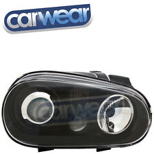 VW Golf IV 98-04 R32 Style BLACK Projector Head Lights