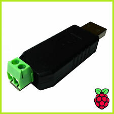 RS485 USB Adapter Konverter Converter Seriell Linux PC Mac Raspberry Pi