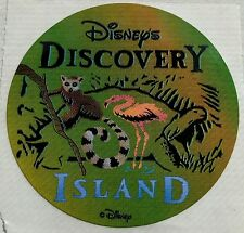 Vintage Walt Disney World Discovery Island Sticker decal